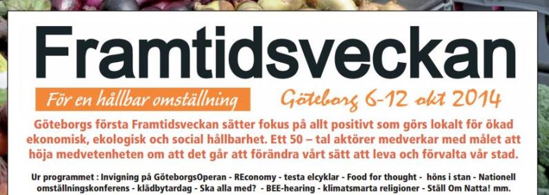 framtidsveckan göteborg 2014